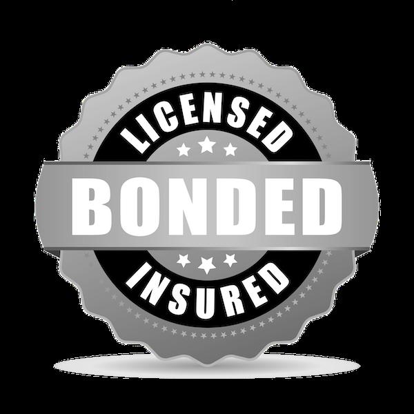 Licensed, Bonded, Insured